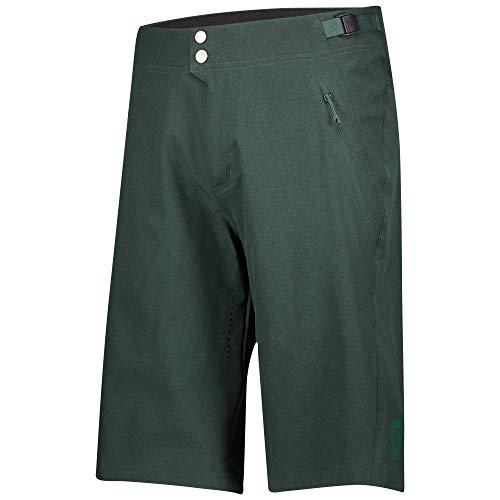 Scott Trail Flow Pro - Pantaloncini corti da ciclismo (compresi pantaloni interni), colore: Grigio fumé, taglia: XL (54/56)