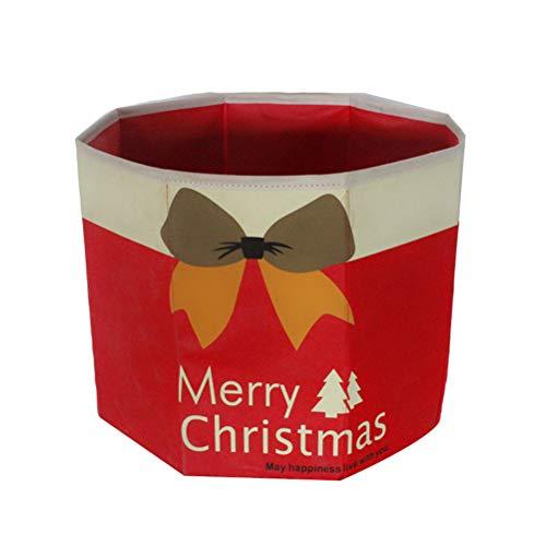 BESTOYARD Soporte Base Pie Árbol Navidad Plegable