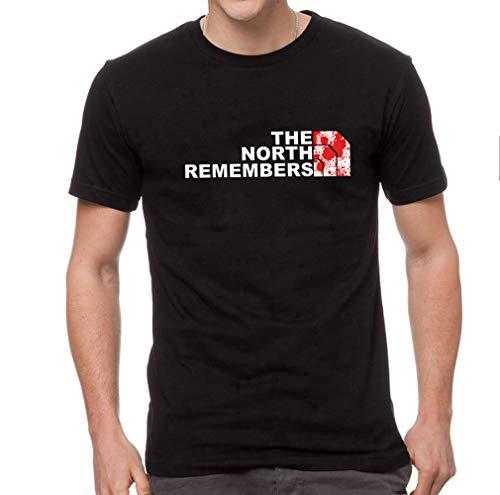 Ideastore - Camiseta de Juego de Tronos The North Remembers - Juego de Tronos - Serie TV