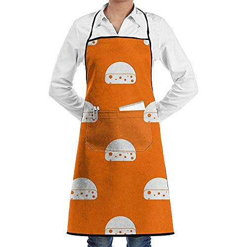 Eliuji Hollandse Kaas Koken Schort Verstelbaar Gemakkelijk Verzorging Koken Schort Keuken Schort met Zakken voor Vrouwen Mannen Chef