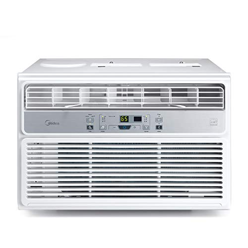Midea Window Air Conditioner 10000 BTU Easycool AC (Cooling, Dehumidifier and Fan Functions) for Rooms up to 450 Sq, ft. with LCD Remote Control