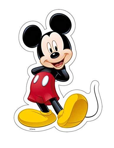 Generique - Essbarer Tortenaufleger Mickey Maus 18,4 x 25,7 cm