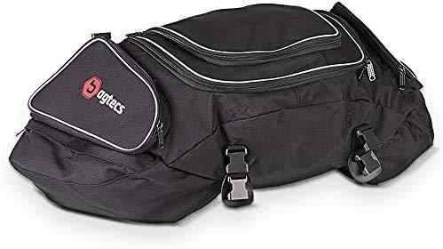 Motorrad Hecktasche Bagtecs X50 50Ltr Wasserdicht 4 Spanngurte Gepäcktasche Hinten schwarz