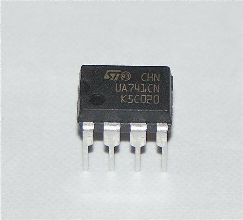 Wadoy UA741CN General Purpose operacional amplificador–unidades 5–8pin Dual en línea paquete