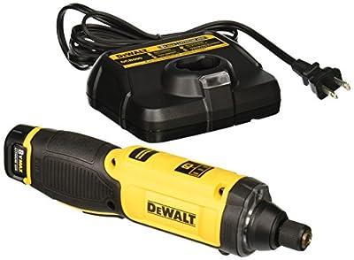 DEWALT 8V MAX Cordless Screwdriver Kit, Gyroscopic, 1 Battery (DCF682N1) by Dewalt
