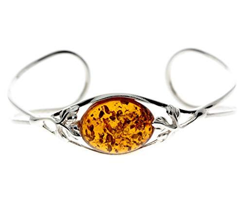 SilverAmber - Damen - Silber Armband mit Bernstein - GL511