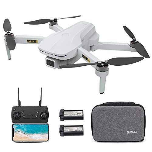 EACHINE EX5 GPS Mini Drone with 4K UHD Camera for Adults 60 Mins Flight Time 5G GHz Wifi FPV Floadbale Drones Quadcopter with Brushless Motor 1000m Control Range,Auto Return Home, Follow Me