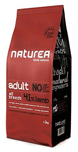 Naturea Alimento Seco para Perros Naturals Adulto Cordero - 12000 gr ✅