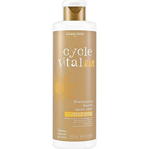 Cycle Vital - Shampooing Douche Après-Soleil - Cheveux Exposés au Soleil - 250 ml