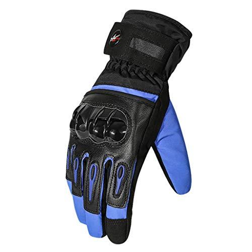 Pantalla táctil de ciclo las IG Anti Slip prueba de viento anti caída y resistente al agua cálida lana de las IG locomotora for hombres corrientes de la mujer motocicleta de la bici de peso ligero for