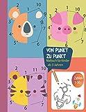 von Punkt zu Punkt Malbuch für Kinder ab 3 Jahren Zahlen 1-30: Malbuch mit 83 tollen Motiven zum Verbinden und Ausmalen.Perfektes Aktivitätsbuch für Kinder, Mädchen und Jungen.