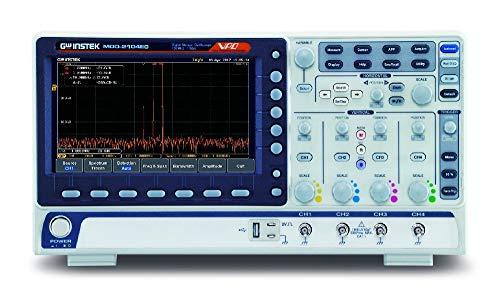 GW Wek MDO-2104EG - Osciloscopio de dominadas mixtas, 4CH, 100 MHz