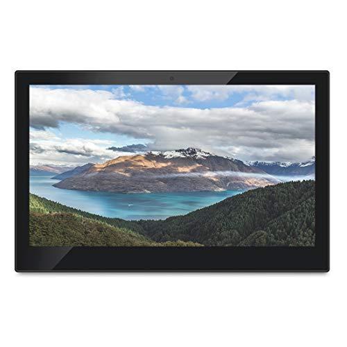 PC todo en uno con pantalla táctil HSD1411 con soporte y VESA de 10x10cm, LCD de 2GB + 16GB de 14 pulgadas Android 8.1 RK3288 Quad Core hasta 1.6GHz, compatible con OTG, Bluetooth y WiFi, enchufe UE /