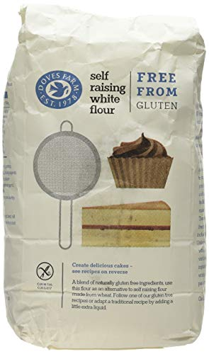 Doves Farm Gluten Free Self-Raising White Flour 1kg