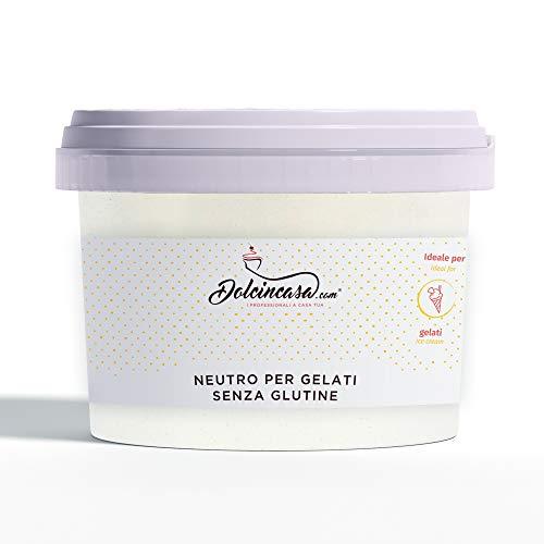 Neutro per Gelati con Farina di Guar e Semi di Carrube Addensante Emulsionante Stabilizzante 500 g Senza Glutine