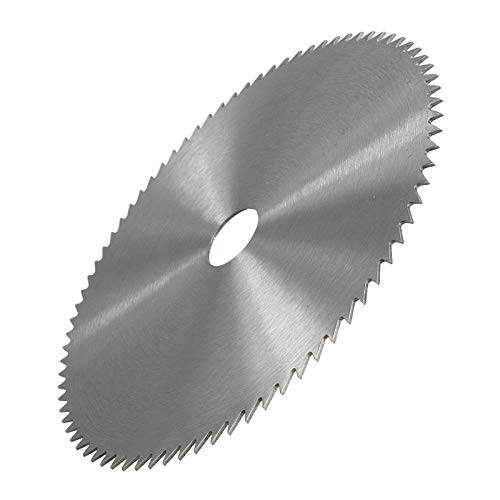 Hoja de sierra circular de acero al manganeso 1 pieza 100/110/125/150 / 180mm 60/75/80 dientes accesorios para herramientas eléctricas disco de corte de madera-150x25x1.0x80T
