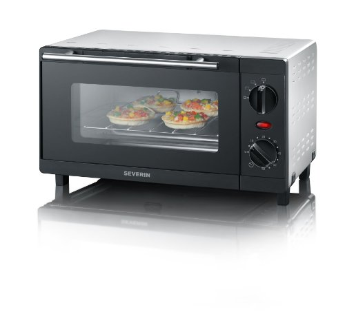 Severin Mini electric oven with grill function 2052, black
