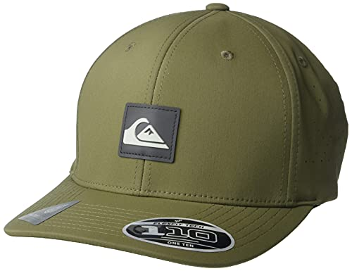 Quiksilver Men's Adapted Snapback, Four Leaf Clover, One Size