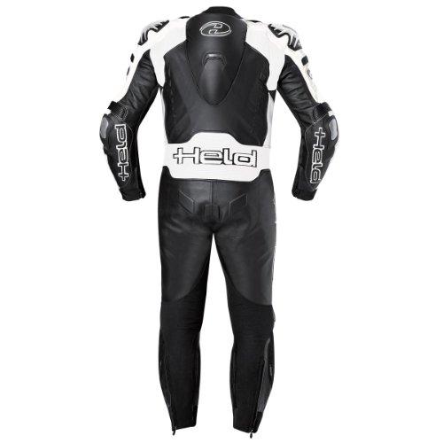 Held Race-Evo - Lederkombi (1tlg.), Farbe schwarz-weiss, Größe 48