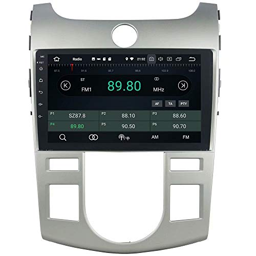 ROADYAKO Unité Principale pour Kia Cerato/Forte 2008 2009 2010 2011 2011 2012 Android 8.1 Autoradio stéréo avec Navigation GPS 3G WiFi Lien Miroir RDS FM AM Bluetooth Multimédia