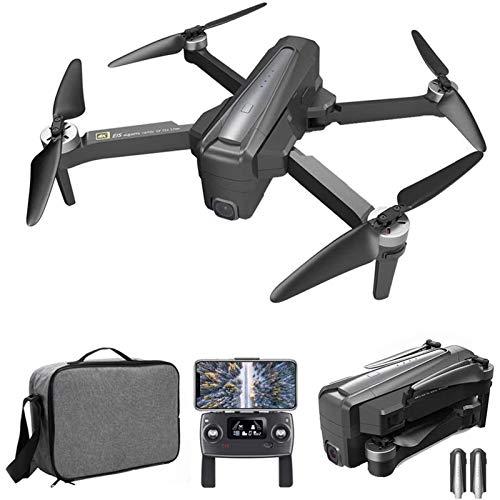 J-Love Drone GPS con videocamera 4K per Adulti, Drone FPV WiFi 5G con Motore brushless, Posizionamento del Flusso Ottico Quadricottero RC con Follow Me, Tempo di Volo di 24 Minuti