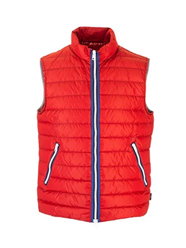 Luxury Fashion | Fay Heren NAM30400190PFW0368 Rood Polyamide Gilets | Lente-zomer 20