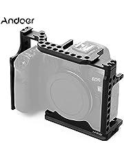 Anself Zestaw klatek fotograficznych Pgraphy wspornik obudowy ze stopu aluminium ze śrubą 1/4 do aparatu Canon EOS R/RP DSLR