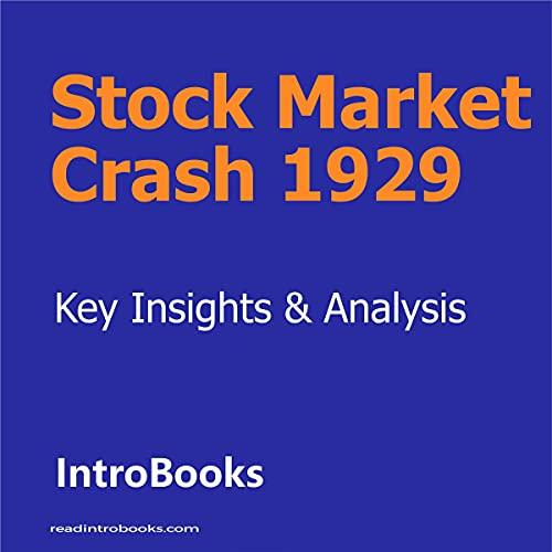 Stock Market Crash 1929 cover art