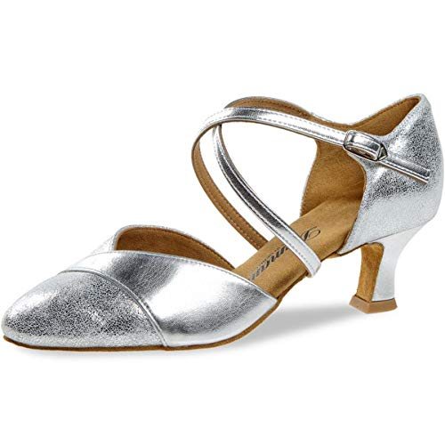 Diamant Damen Tanzschuhe 161-068-505 - Größe: UK 4