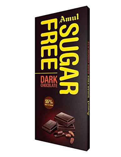 Amul Sugar Free Dark Chocolate, 150g