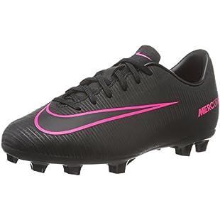 Nike Jr Mercurial Vapor Xi Fg, Unisex Babies' Football Boots, Black, 2.5 UK:Eventmanager
