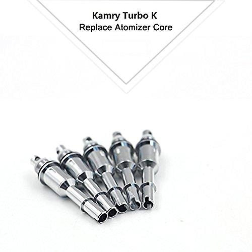 Kamry Turbo K Cigarrillo Electrónico Pipa Atomizador de tubo, Bobinas de Repuesto Dedicadas de 0.5Ohm - Paquete de 5 Bobinas de Repuesto - Productos Genuinos de Kamry, Sin Nicotina(Bobinas)