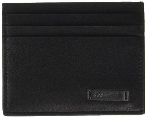 Calvin Klein - Andrew Cardholder, Carteras Hombre, Negro (Black), 1x8x10 cm (B x H T)