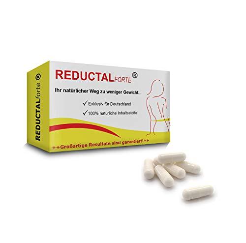 Abnehm-Pillen 30 Kapseln Reductal Forte mit der Erfolgs-Rezeptur aus Europa. Ideal für Gewichts-Verlust und -Kontrolle, Abnehmen. Deutsche Herstellung