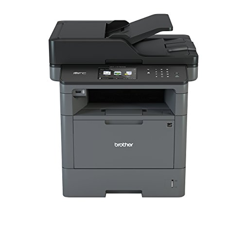 Brother MFC-L5750DN Mono Laser Printer |A4|Print, Copy, Scan, Fax, Duplex Two-Sided Printing...