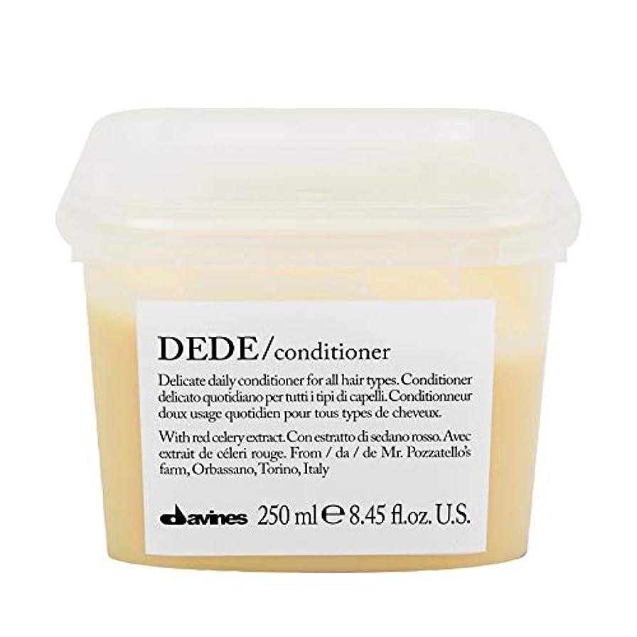 主人延期する説得[Davines ] ダヴィネスDedeコンディショナー250Ml - Davines Dede Conditioner 250ml [並行輸入品]