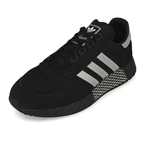 Adidas Marathon Tech Black Silver Metallic White 44.5