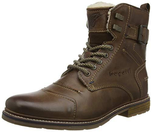 bugatti Herren 321622513200 Klassische Stiefel, Braun, 44 EU