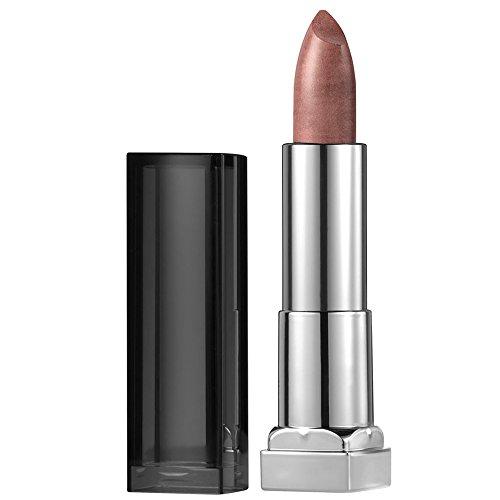 Maybelline New York Color Sensational Nude Lipstick Metallic Lipstick, Silk Stone, 0.15 oz
