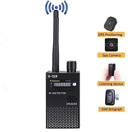 %8 OFF! Wendry RF Signal Detector, Bug Detector Anti-spy Signal Detector High Sensitivity Wide Compa...