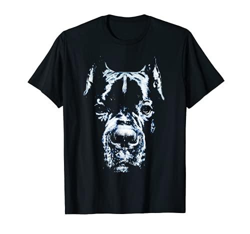 Cane Corso T-shirt Hundekopf italienischer Mastiff