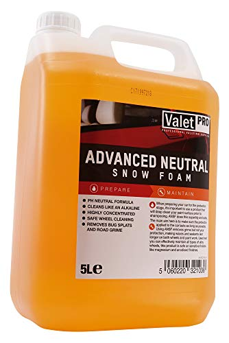 ValetPRO EC19-5L Advanced Neutral Snow Foam Autoshampoo, 5 L