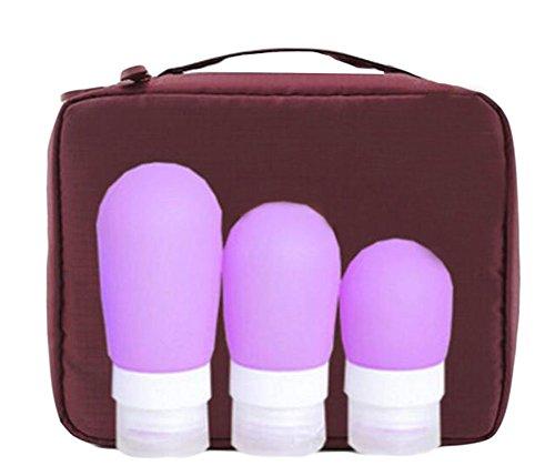 Exquis cosmétiques bouteilles Bouteille d'applicateur-14(Ensemble de quatre)