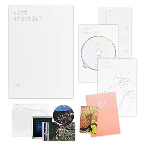 BTS 5th Mini Album - LOVE YOURSELF 轉 HER [ E ver. ] CD + Photobook + Mini Book +...