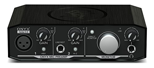 Mackie Onyx Artist 1x2-2 In x 2 Out Audio Interface