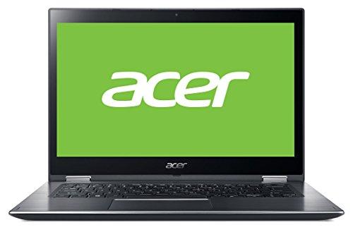"Acer Spin 3 | SP314-51-58JC - Portátil táctil Convertible 14"" Full HD IPS (Intel Core i5-8250U, 8 GB de RAM, 128 GB SDD, Intel Graphics, Windows 10 Home) Plata - Teclado QWERTY Español"