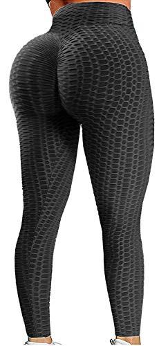 YOFIT Women Ruched Butt Yoga Pants Lifting Leggings High...