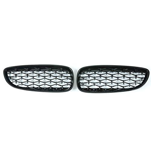 GOUC 2 Unids/Set Rejillas De Parachoques Delantero De Coche Estilo Diamante, para BMW Z4 E89 2009~2016 Accesorios De Coche Estilo De Coche