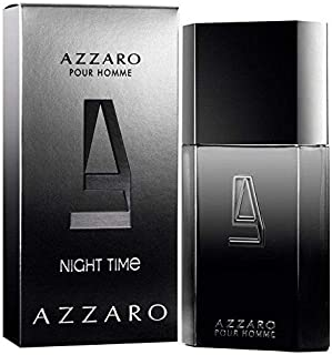 Azzārŏ Nĭght Tĭme Cologne for Men 3.4 fl. Oz / 100 ml Eau De Toilette Spray