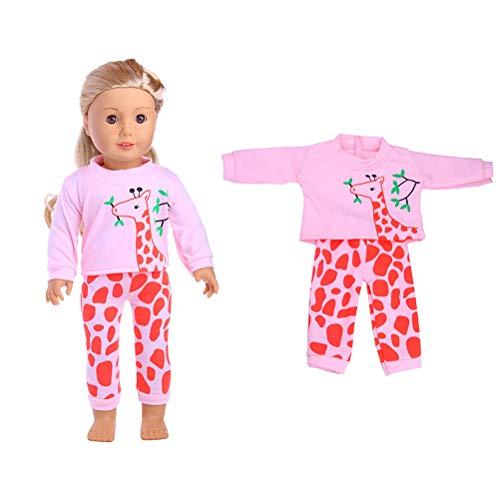 Hahepo Roupas de boneca Fofo Vestido chique de fada serve em mini vestidos da moda para bonecas de 45,7 cm